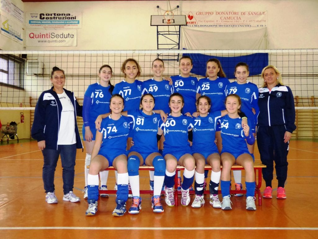 L'Under 14 femminile del Cortona Volley accede alla final four e alla fase regionale