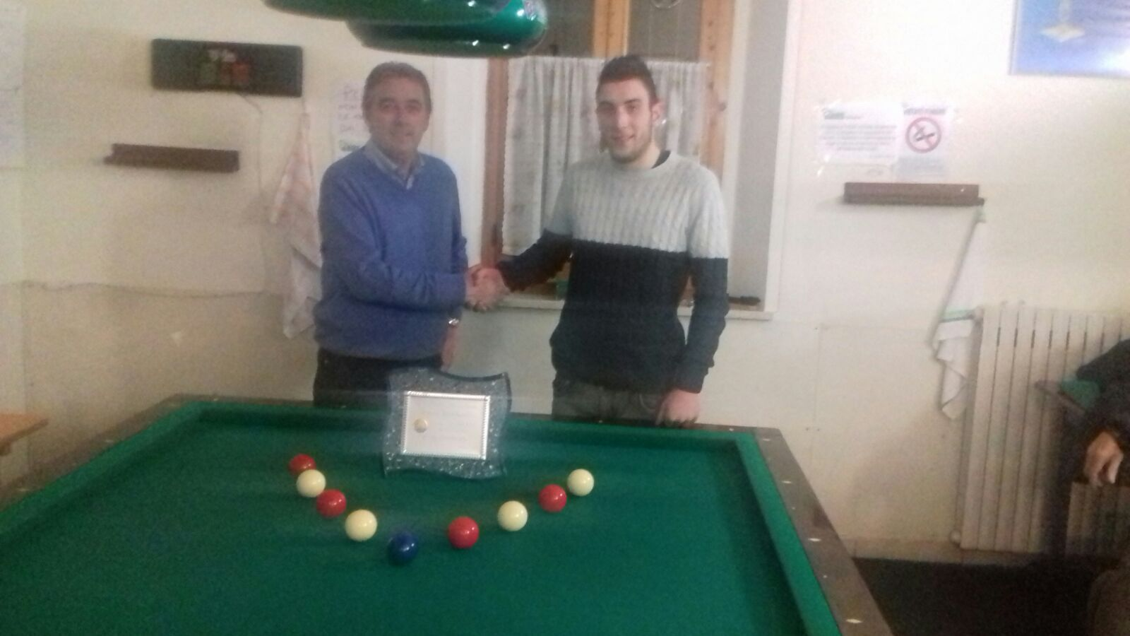 Torneo di Biliardo al Circolo Auser di Lucignano