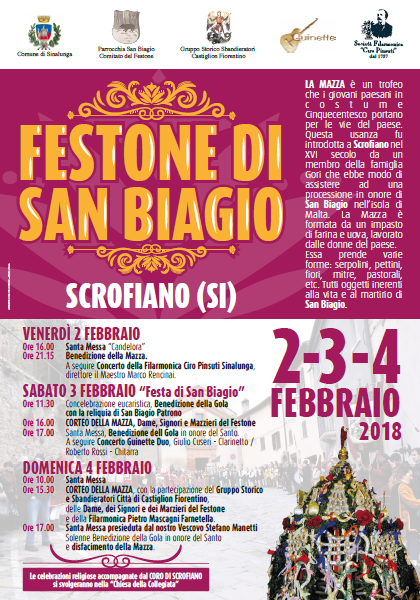 Scrofiano celebra in Patrono San Biagio