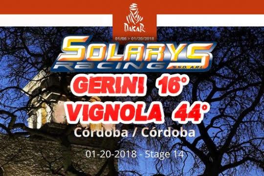 Team Solarys alla Dakar: l'ultima tappa