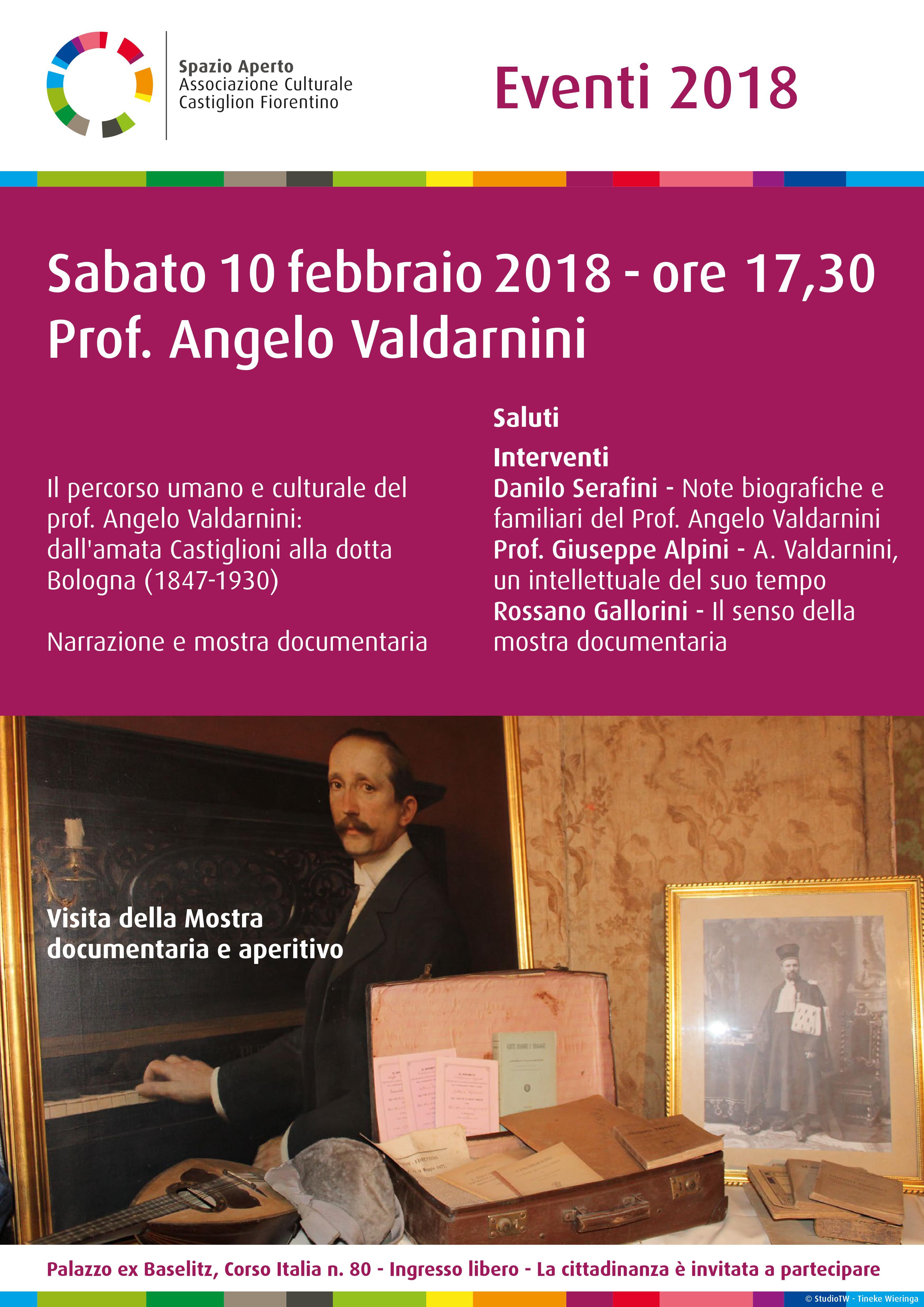 Spazio aperto festeggia un anno di attività ricordando Angelo Valdarnini