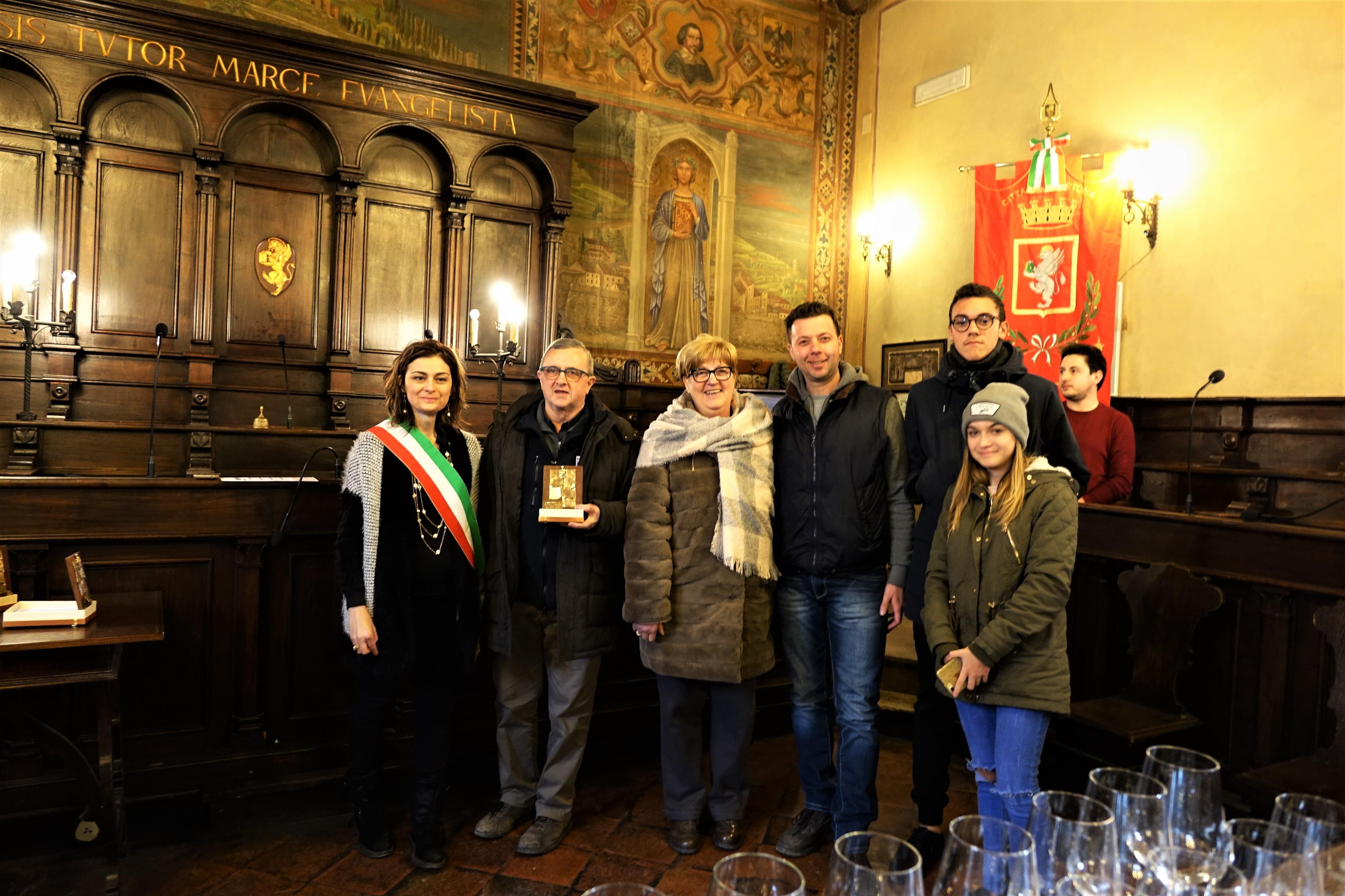 Omaggio del Consiglio Comunale a Molesini, Azienda Agricola Baldetti e Fattoria La Bistecca