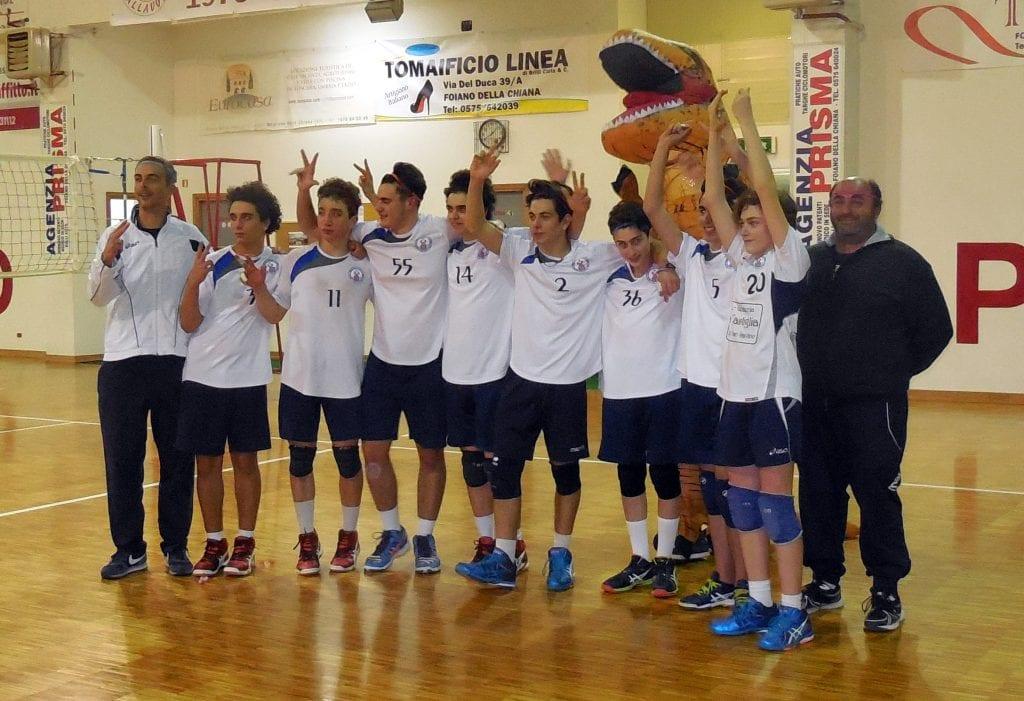 L'Under 16 Savinese - Cortona conquista il campionato Etruria 2018