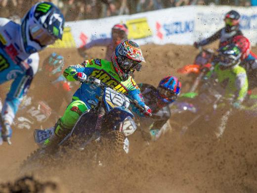 Motocross: In Russia una brutta caduta rovina il weekend mondiale a Bernardini