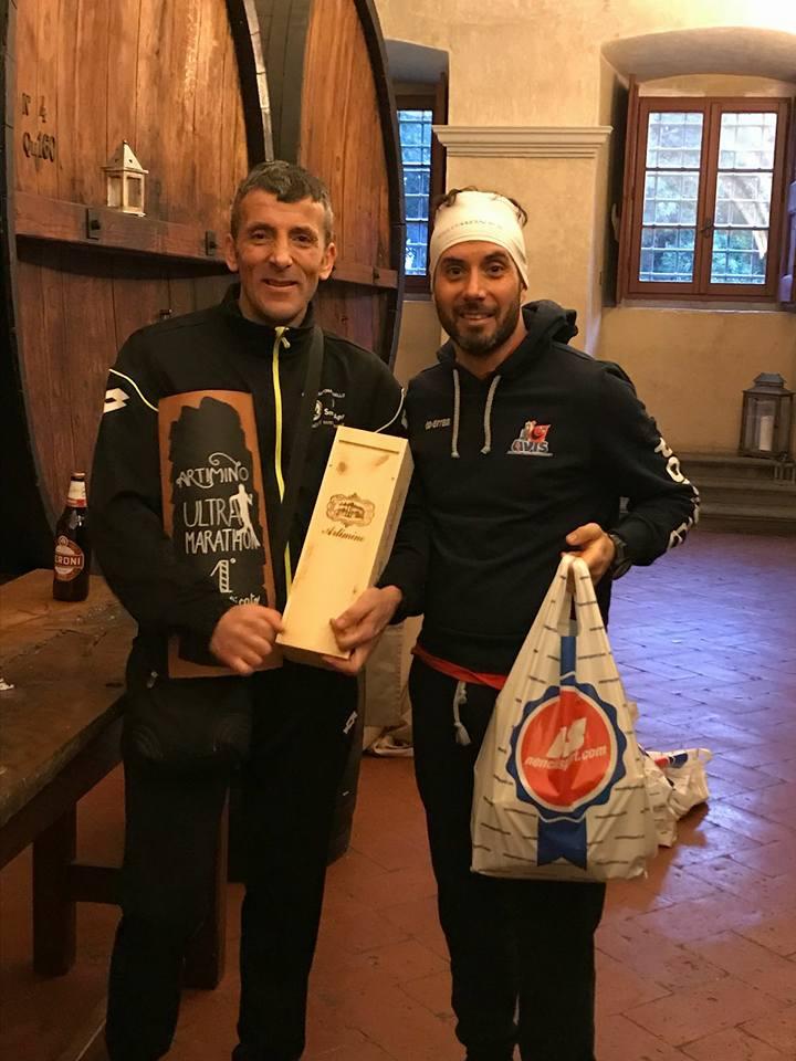 Trionfo di Donnini all'Artimino Ultramarathon