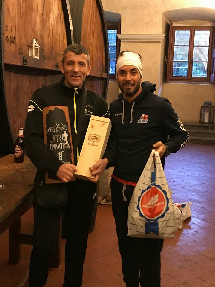 Trionfo di Donnini all'Artimino Ultramarathon