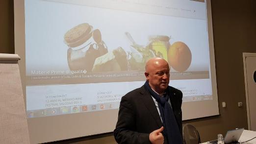 Al Fico di Bologna Dario Loison testimonial per il muster di management dinamico