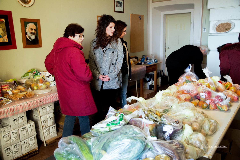 Raccolta alimentare con gli studenti dell'I.C. Città di Castiglion Fiorentino