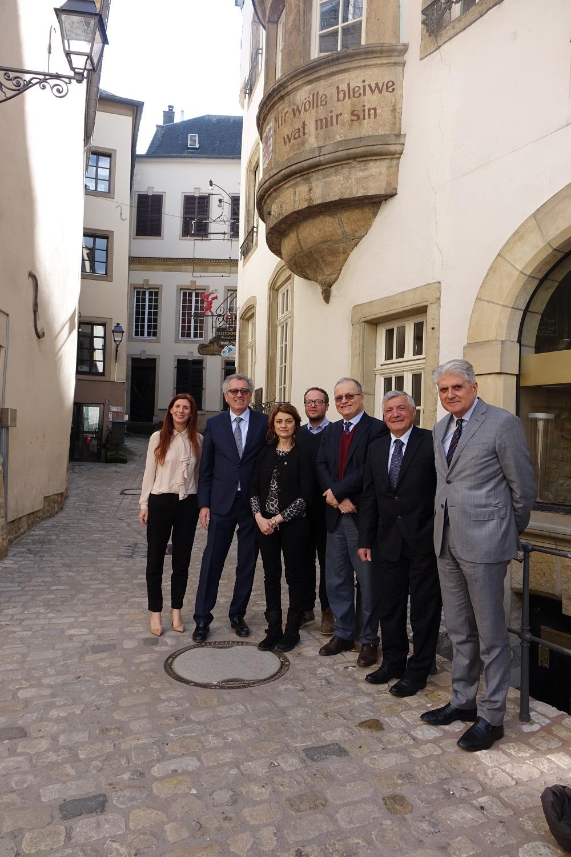 Più forte il rapporto fra Cortona e il Lussemburgo