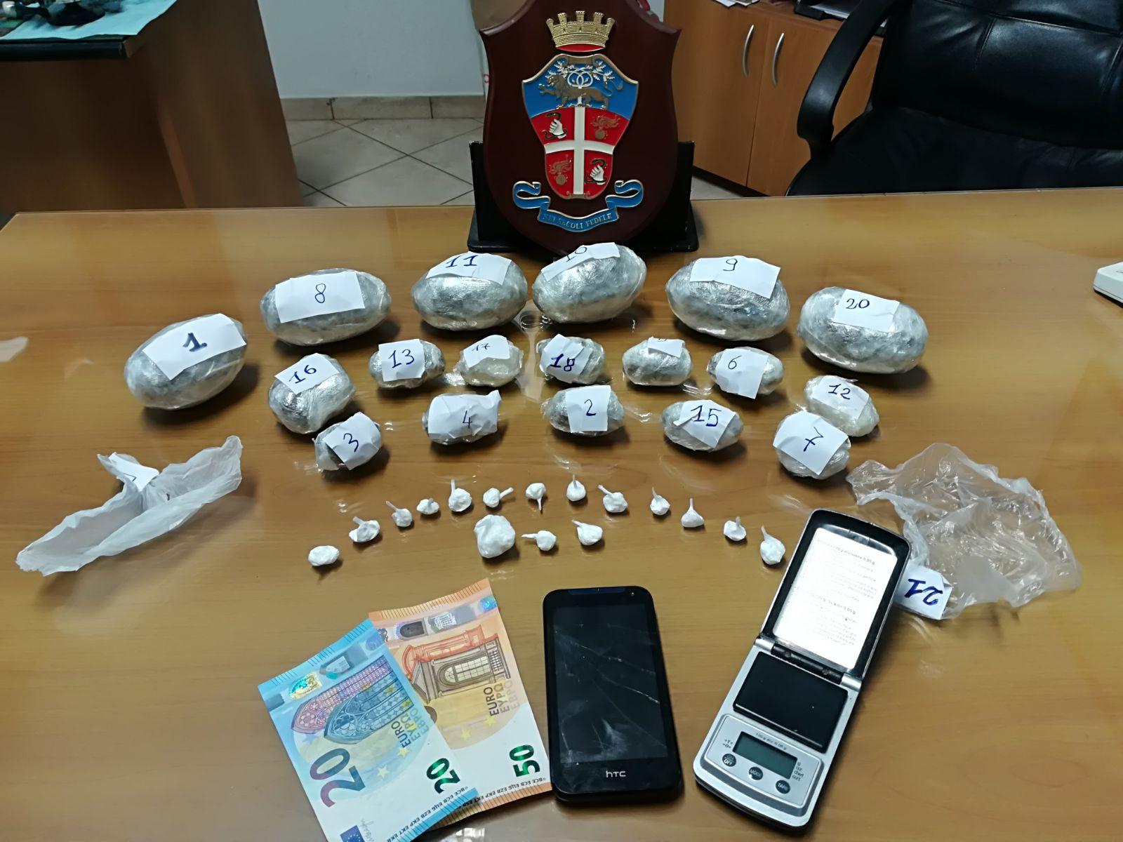 Marito e moglie albanesi arrestati per spaccio