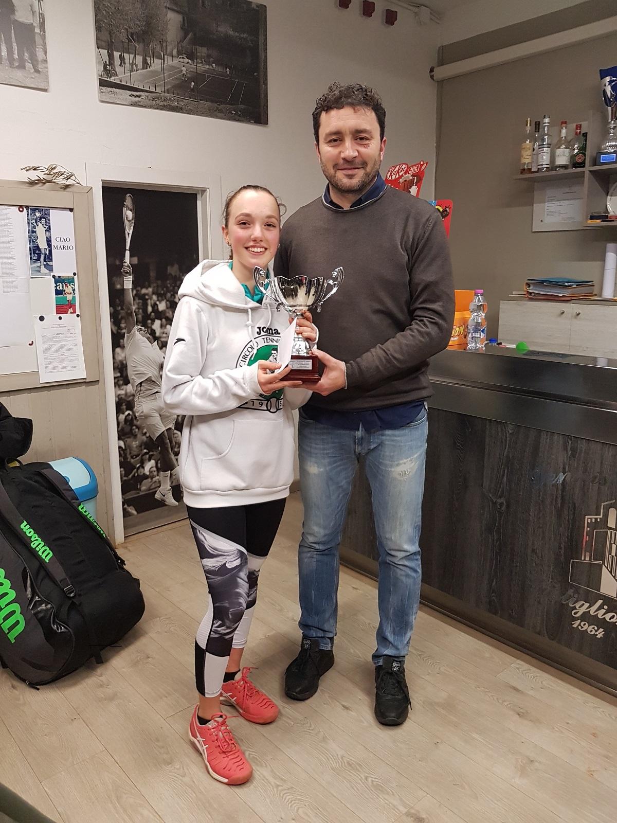 Tennis: Camaiani e Mangiavacchi vincono il Torneo del TC castiglionese