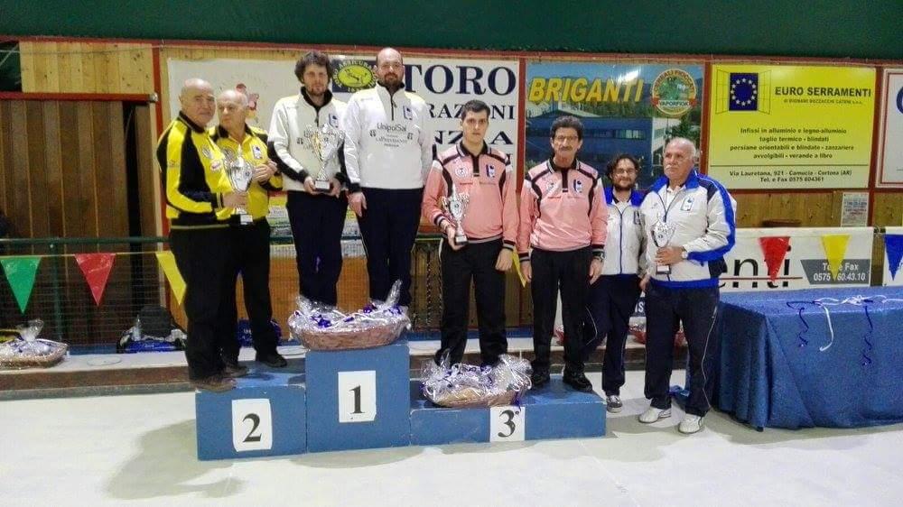 Trofeo Valle dei Principi al Bocciodromo di Tavarnelle
