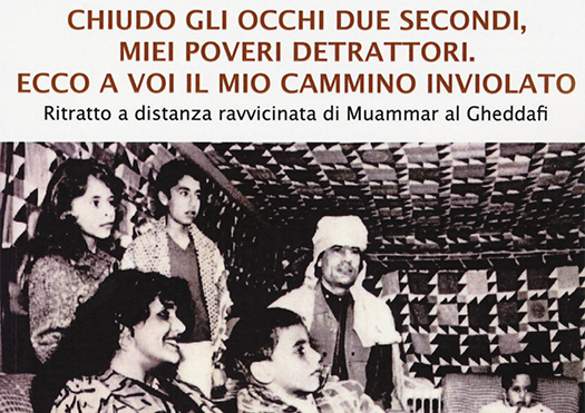 Alla Biblioteca di Monte San Savino si parla di Gheddafi con Andrea Sammartano