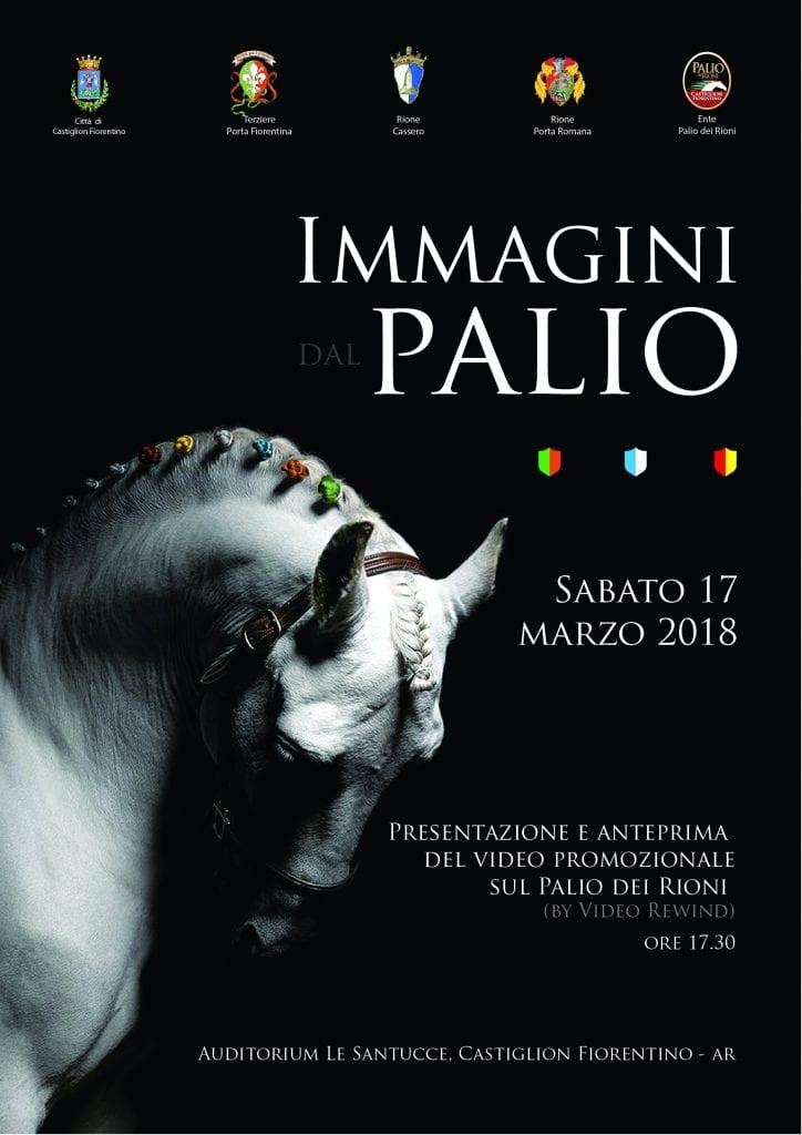 """""""Immagini dal Palio"""". Sabato anteprima del video promozionale."""