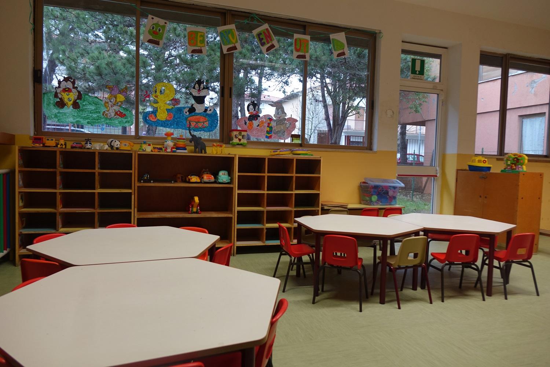 Riaperta la scuola a Camucia, i bimbi del Nido ospitati a Cortona