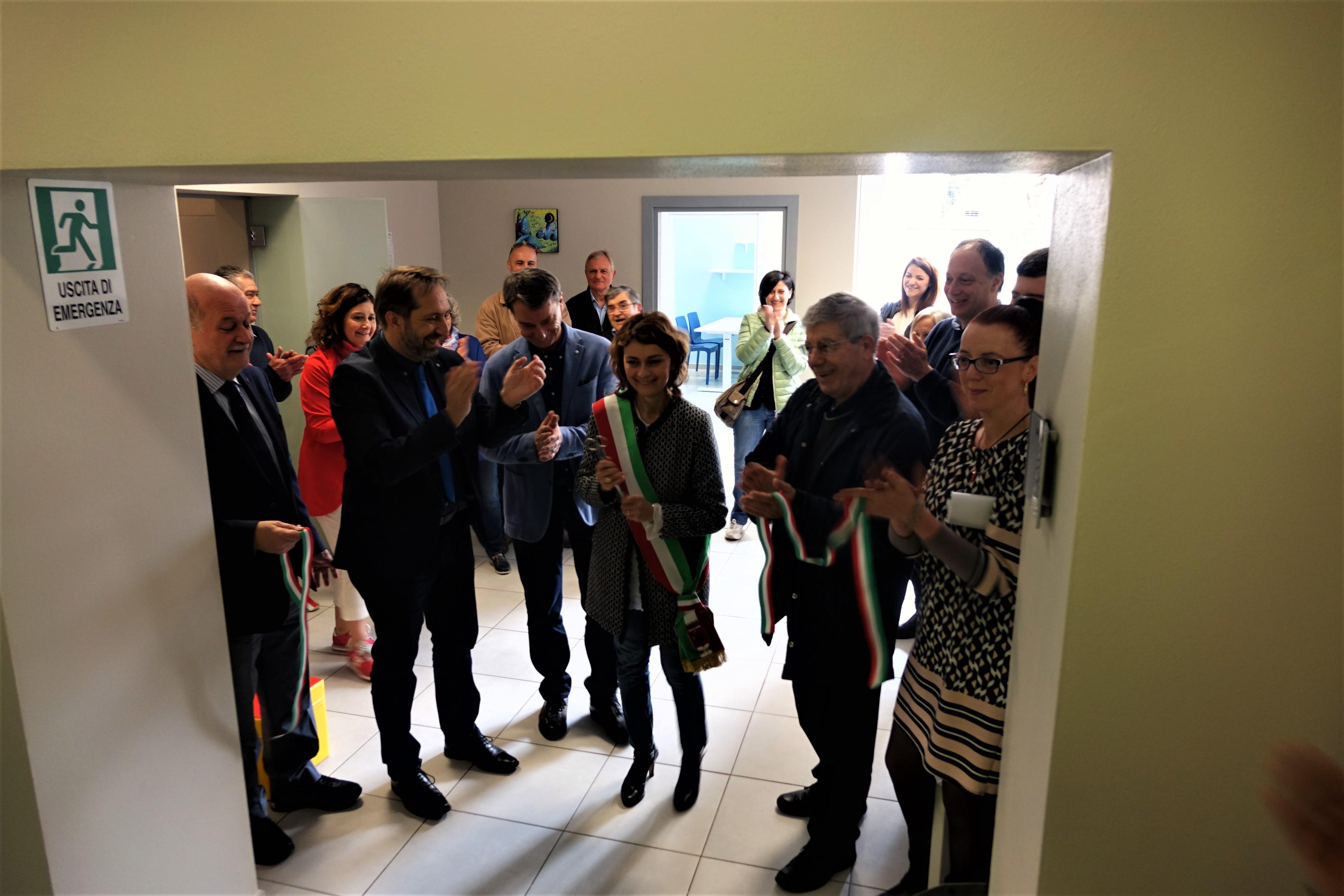 Inaugurato a Camucia il Centro Futurabile per la riabilitazione ambulatoriale dell'età evolutiva della Valdichiana