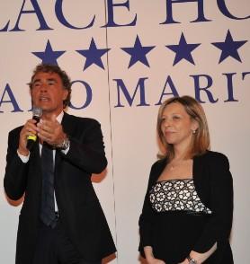 Il premio Cinque Stelle al giornalismo al Palace Hotel di Milano Marittima