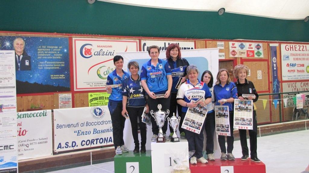 Bocce: grande spettacolo al Trofeo Città di Cortona
