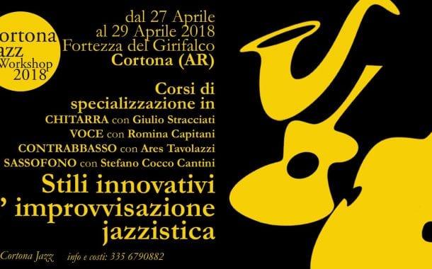 Il Girifalco fra i luoghi del Cortona Jazz Festival: workshop non-stop e 3 concerti