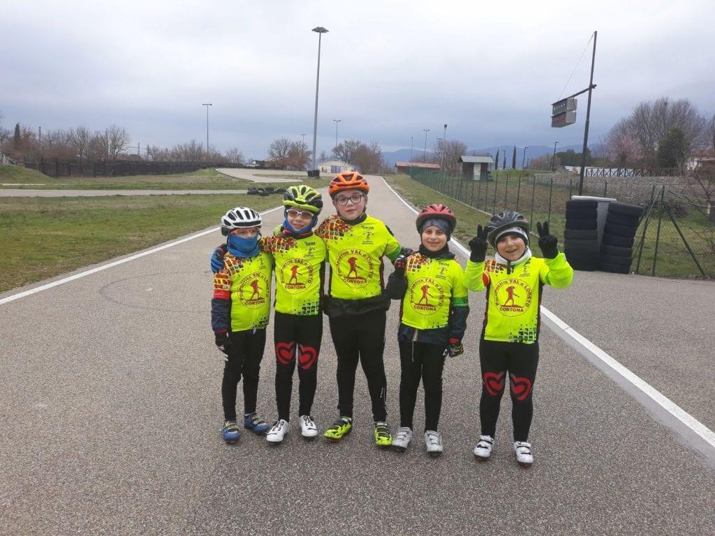 Ripresa l'attività ciclistica giovanile