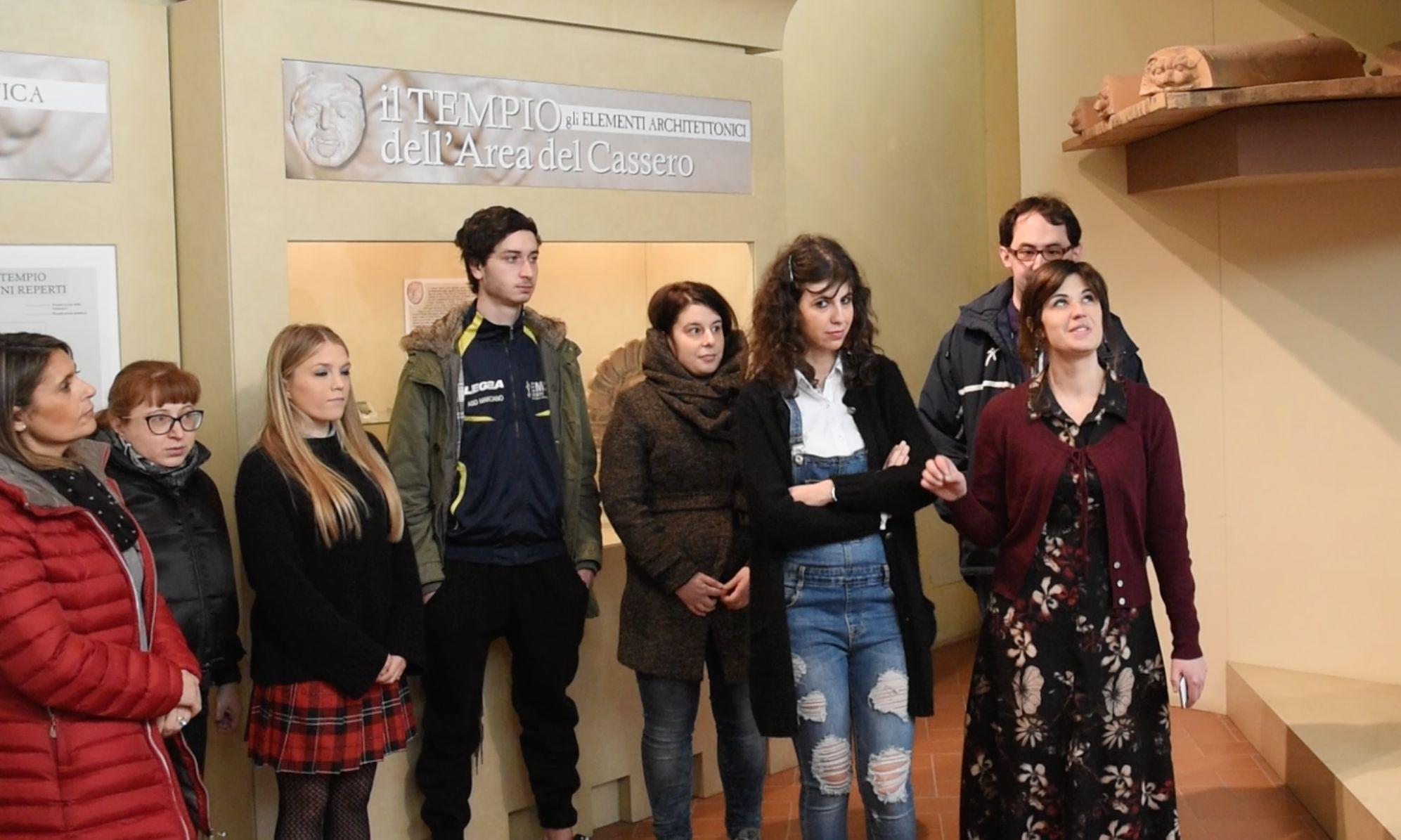 Un progetto di formazione per giovani disabili al Museo di Castiglion Fiorentino