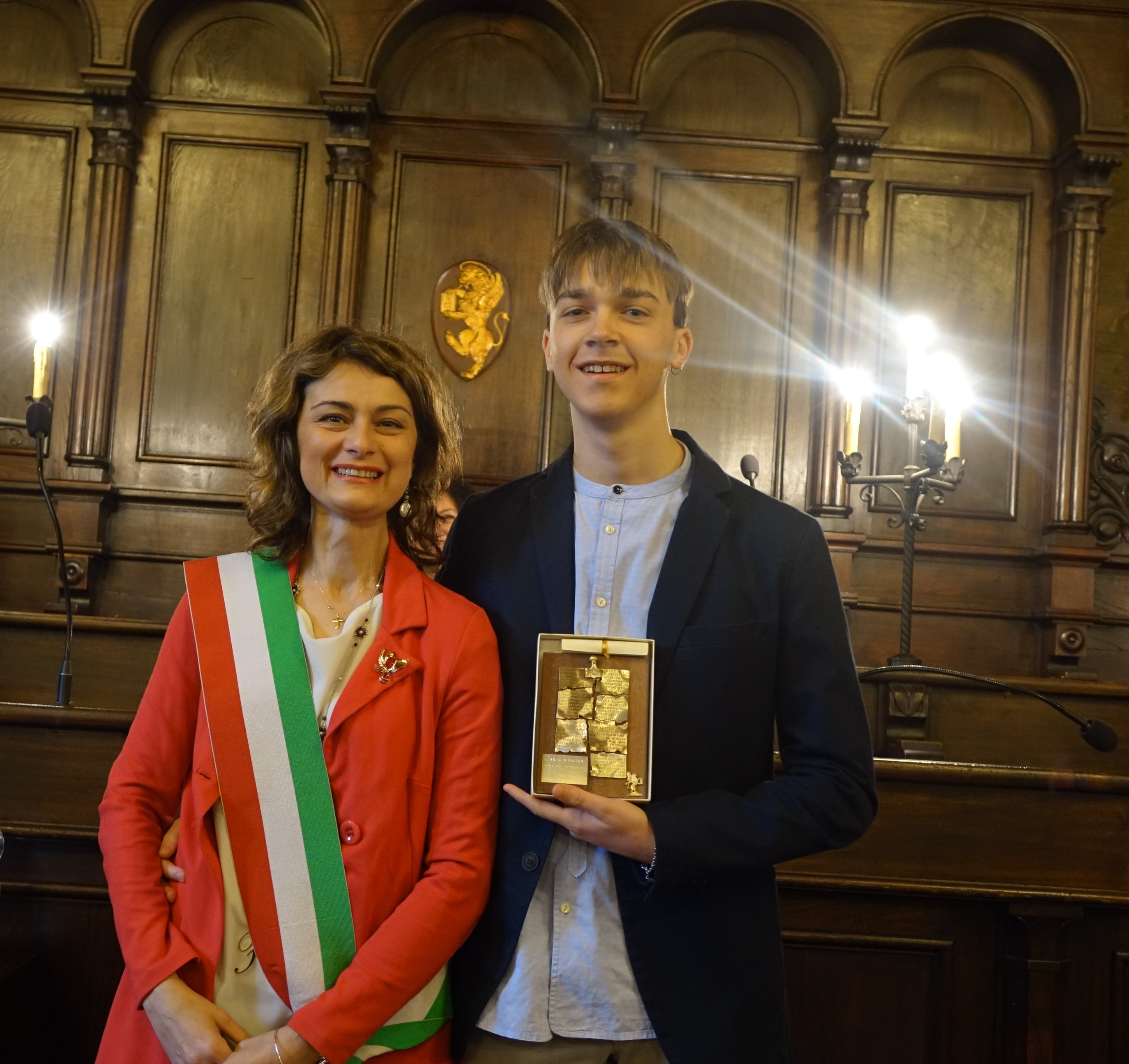 Premiato Andrea Saccone, super campione de
