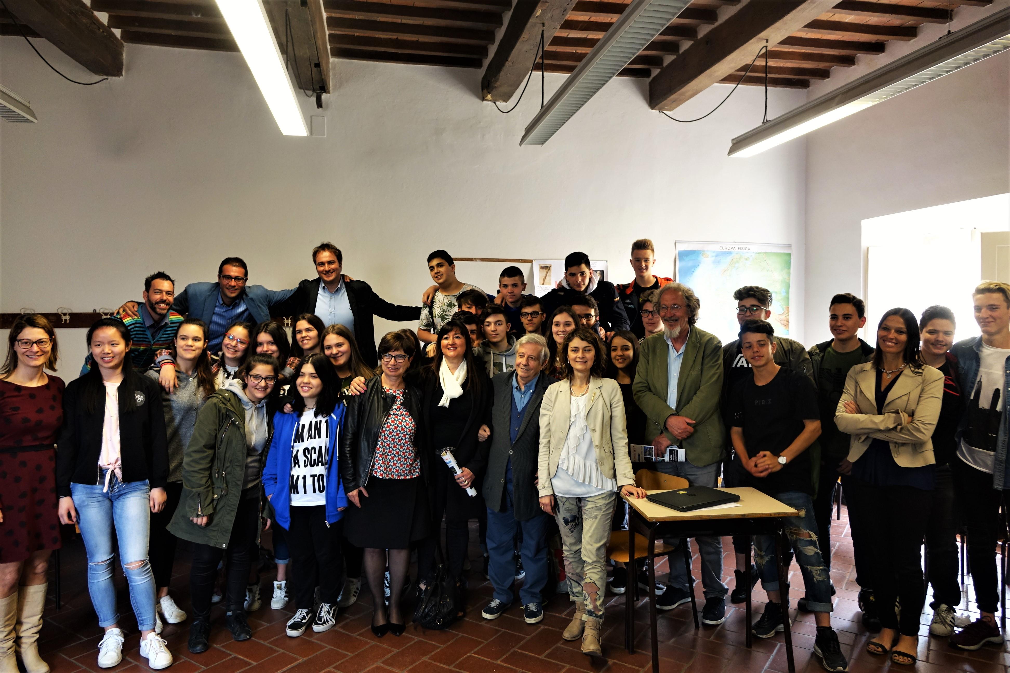 70 studenti di Cortona per l'uso consapevole del web