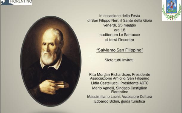 """""""Salviamo San Filippino"""". Incontro con Rita Richardson venerdì all'auditorium de Le Santucce"""