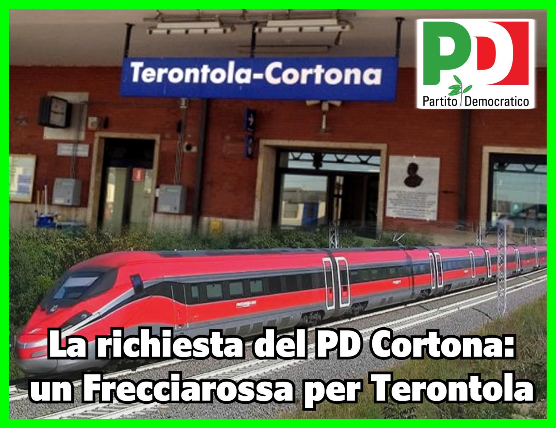 PD Cortona a sostegno dell'Alta Velocità a Terontola