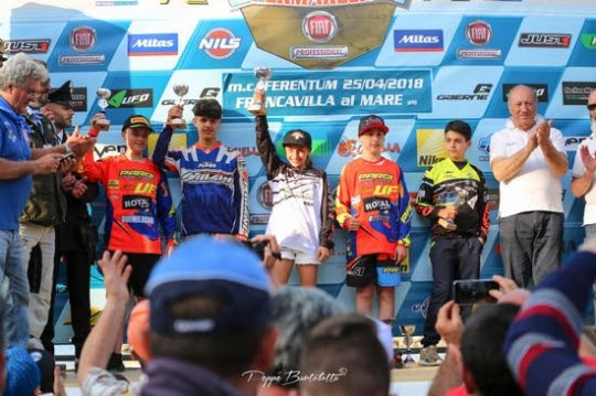 Team Solarys trionfa al SuperMareCross con Giorgia Blasigh
