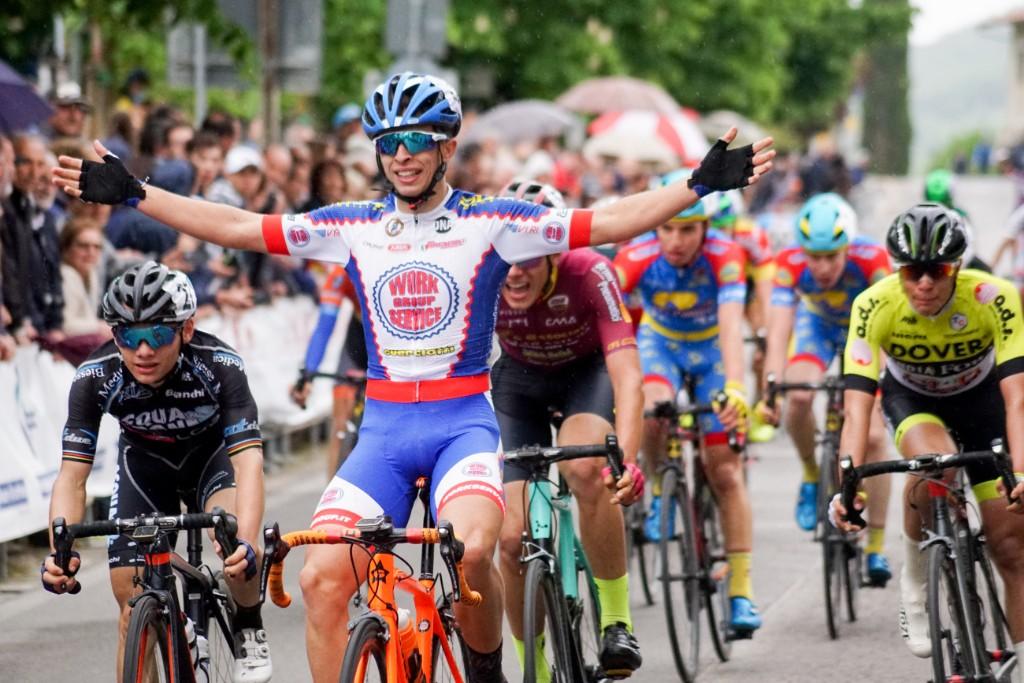 Matteucci vince in volata il Trofeo Val di Pierle