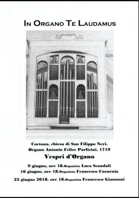 Vespri d'Organo a San Filippo