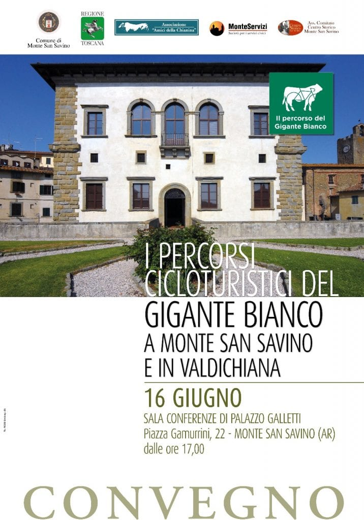 Percorsi CicloTuristici del Gigante Bianco, un Convegno a Monte San Savino