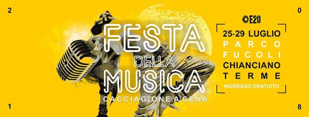 Festa della Musica di Chianciano Terme: il programma dell'edizione 2018