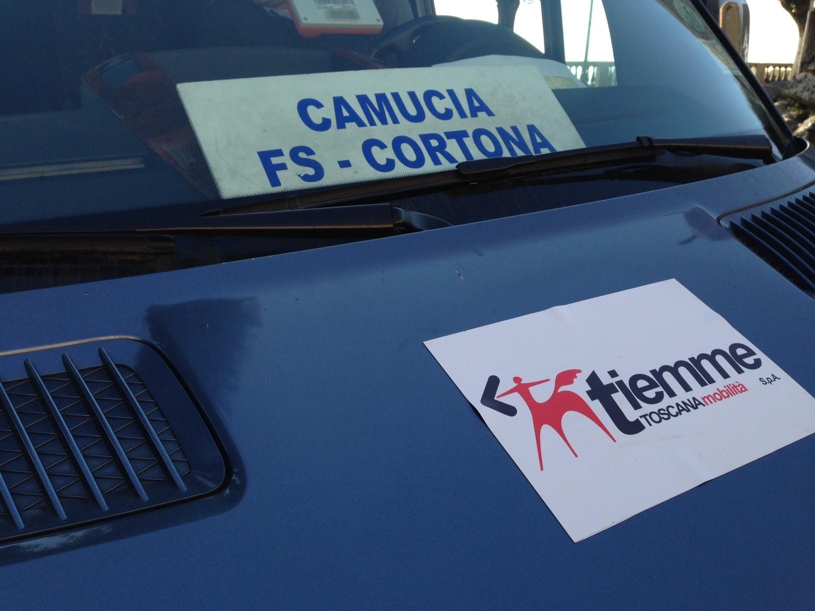 Potenziato il servizio Navetta Camucia - Cortona per l'Estate