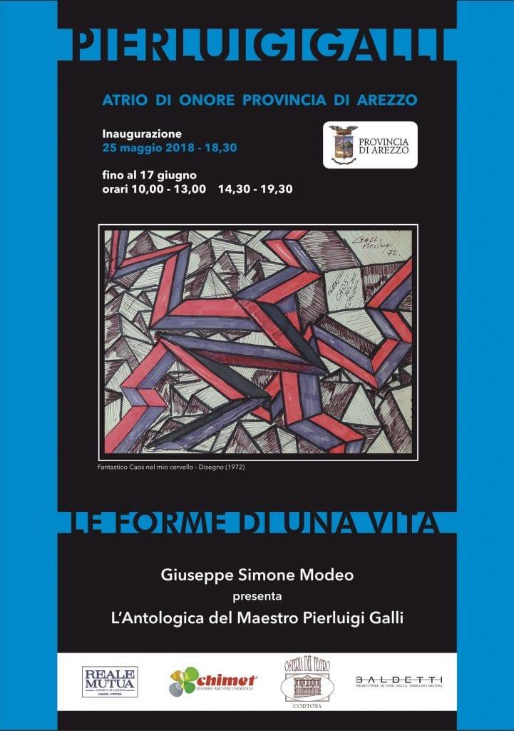 """""""Le forme di una vita"""". Cinquant'anni di carriera di Pier Luigi Galli in mostra ad Arezzo"""