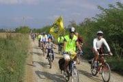 Una pedalata per il rilancio del Sentiero della Bonifica