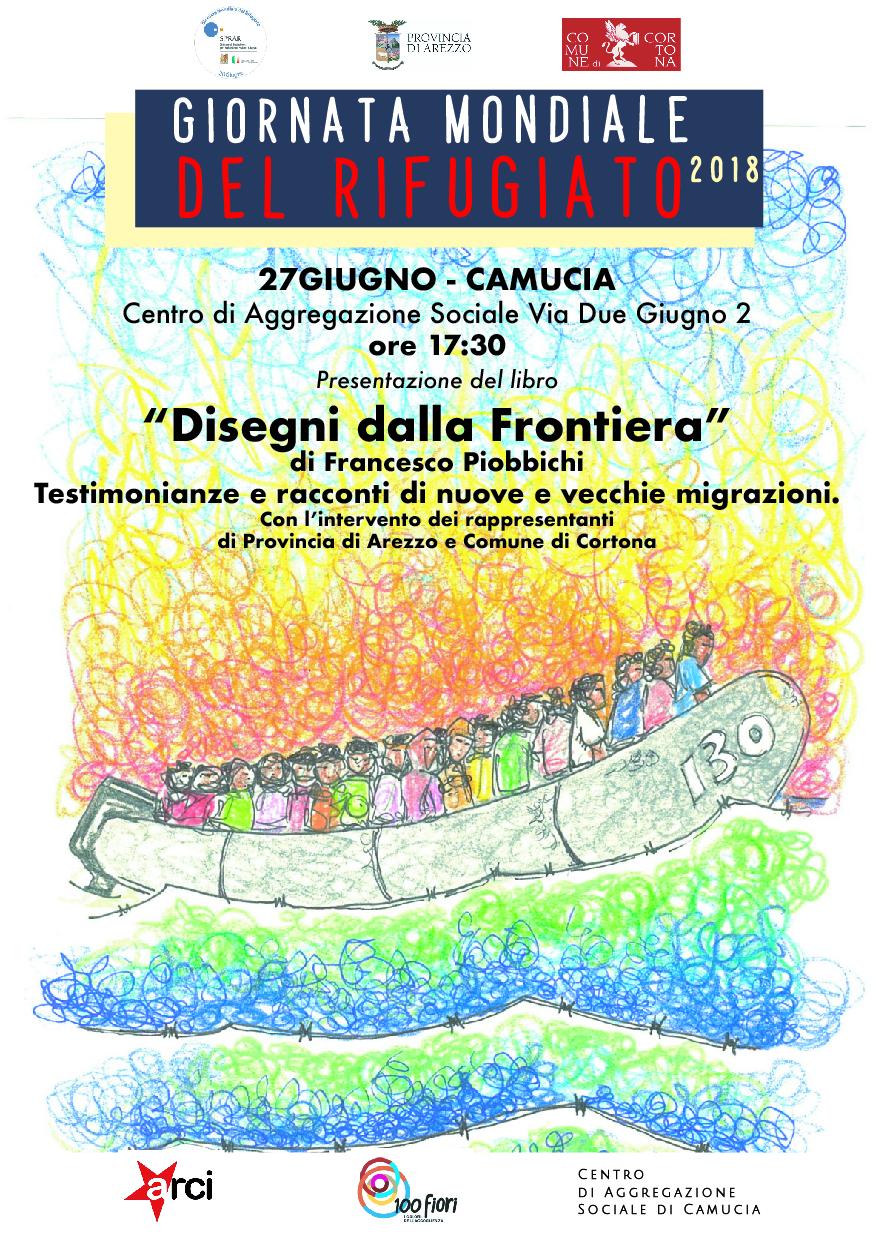 Giornata Mondiale del Rifugiato, a Camucia presentazione del libro