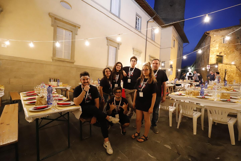 I volontari di Cortona on the Move, il vero tesoro del Festival