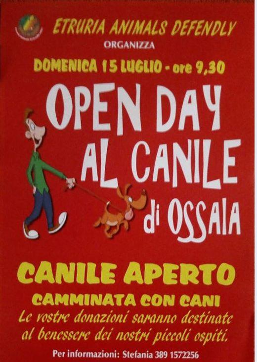 Open Day con camminata al Canile di Ossaia