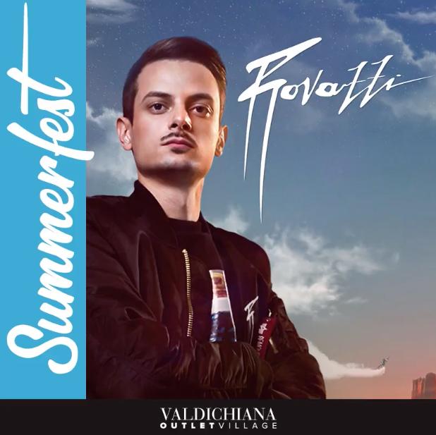 Rovazzi al Valdichiana Live presenta il nuovo singolo