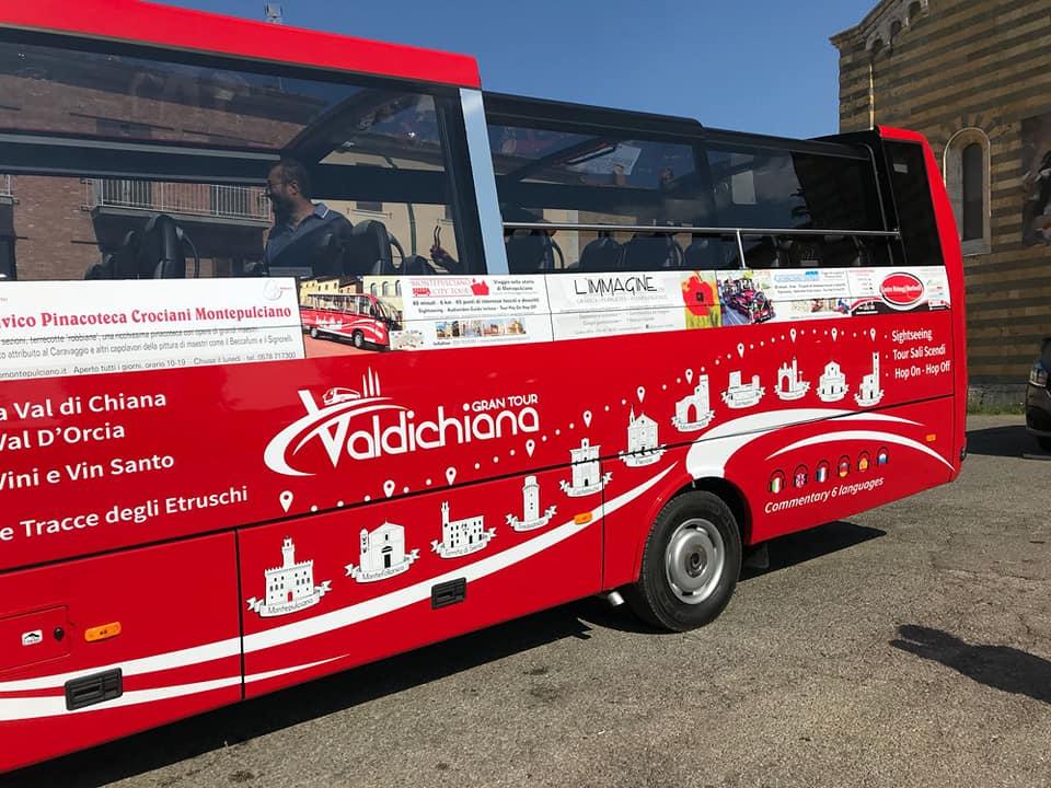 Parte il Valdichiana Gran Tour, il trasporto pubblico che collega otto comuni della Valdichiana senese