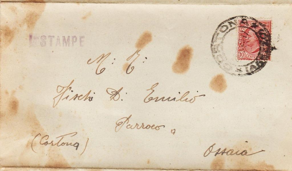 Ricordi della Cortona di ieri che riaffiorano. Una lettera del vescovo Carlesi (1925) e cartoline con calciatori (1948 ca.)