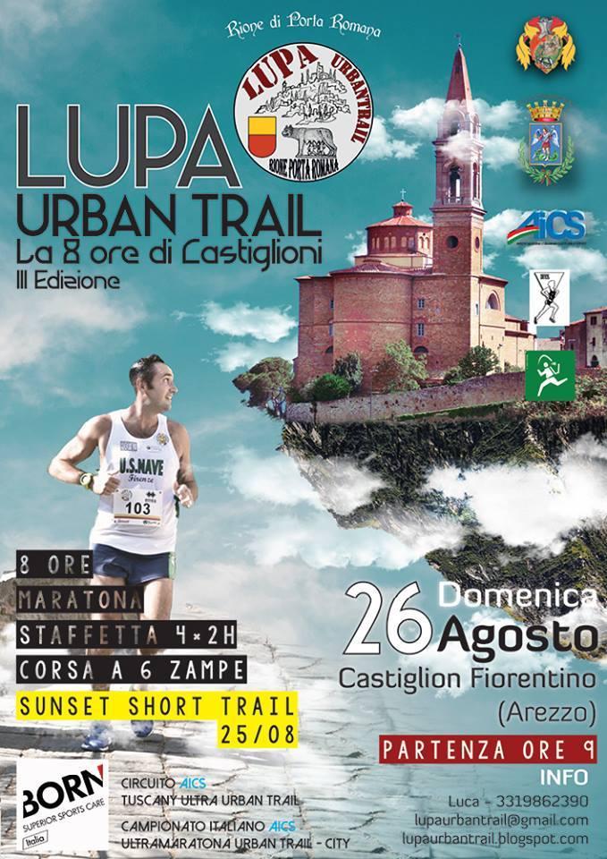 Lupa Urban Trail, Castiglion Fiorentino protagonista