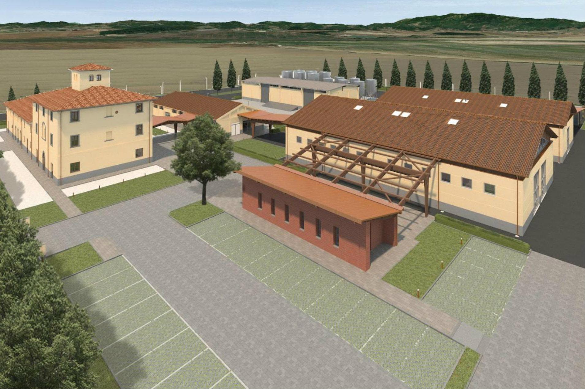 Inaugurazione del nuovo Centro Direzionale Produttivo di Bonifiche Ferraresi a Santa Caterina