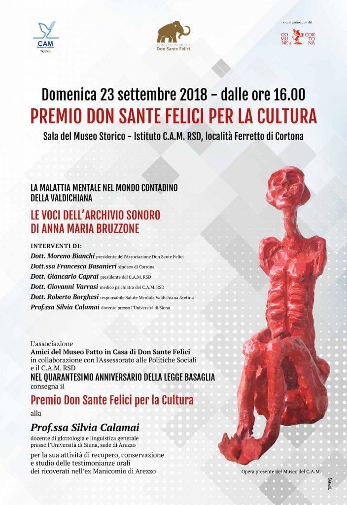 Il Premio Don Sante Felici alla Dott.ssa Silvia Calamai
