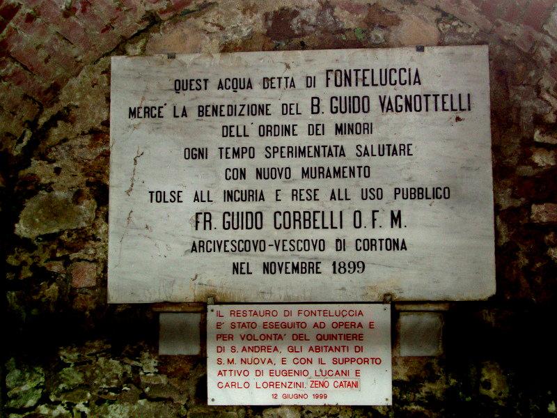 Fonte Luccia: chiusa la fonte dell'acqua miracolosa
