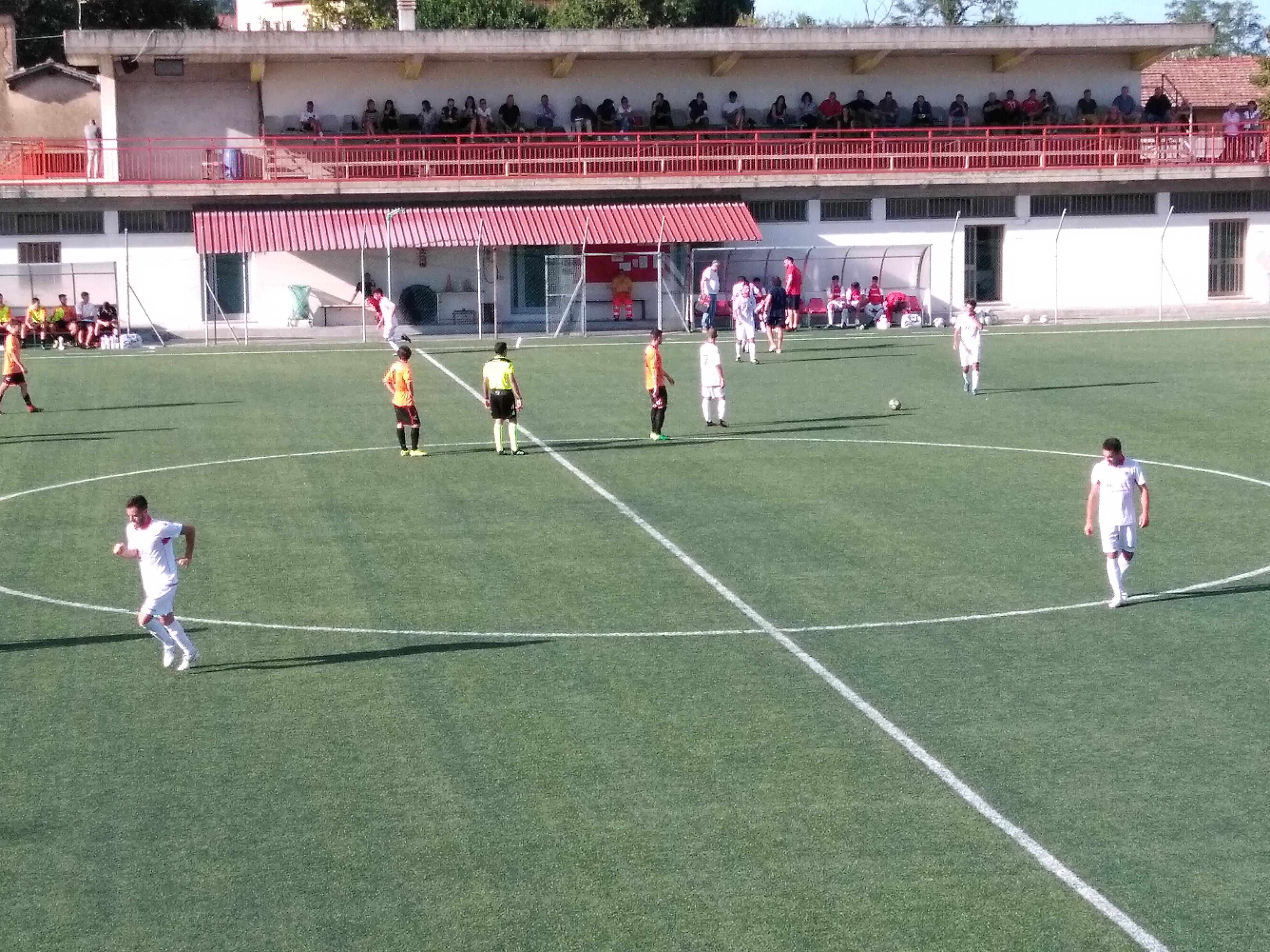 Arancioni sconfitti dal Chiusi di Testini, fuori dalla Coppa. Domenica via al Campionato