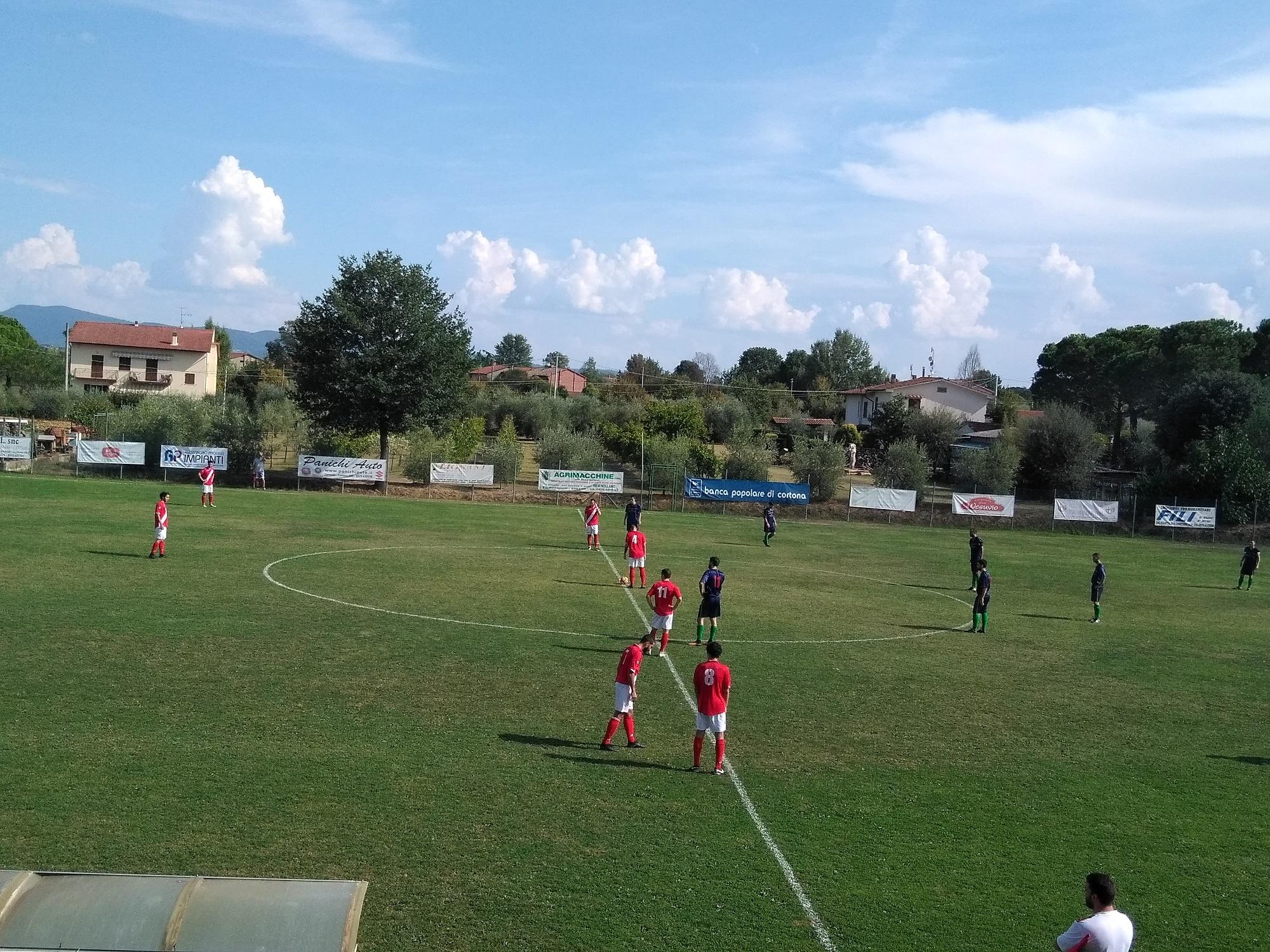 Calcio: Fratta sconfitta di misura dal Tegoleto