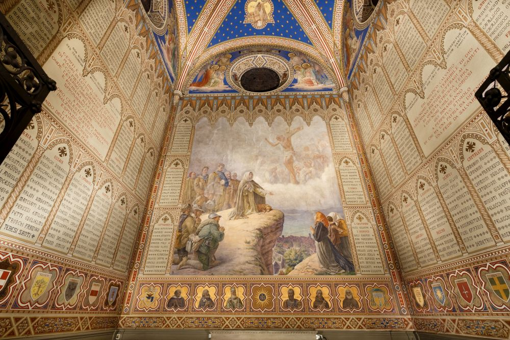 Il restauro della Cappella dei Caduti a Santa Margherita